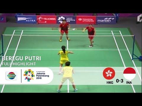 Hebat! Badminton Beregu Putri Indonesia Mengalahkan Hong Kong di Babak 16 Besar Asian Games 2018 ...