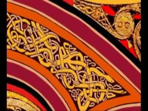 Book of Kells - Coloring the Chi Rho