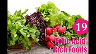Top 19 Foods High in Folic Acid You Should Include In Your Diet