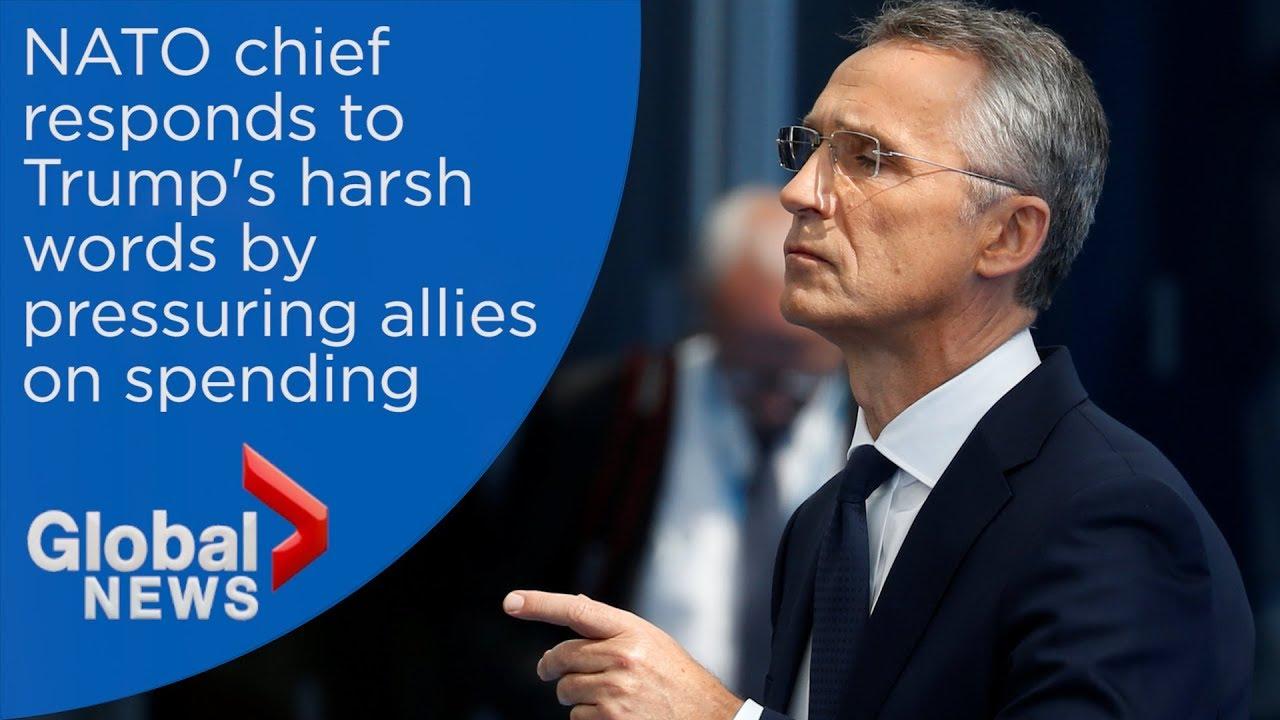 NATO Secretary General pressures allies on spending after Trump meeting