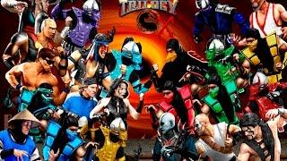 Mortal Kombat Trilogy Extended Supreme Demostration Alberto Blaze