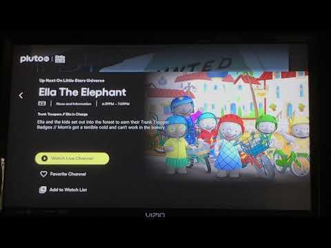Download Pluto TV update for 9/7/2021: 4 New Pluto TV kids channels and 1 Renamed channel.