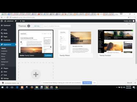Wordpress Basic | Web Development Course Tutorial | CodersTrust