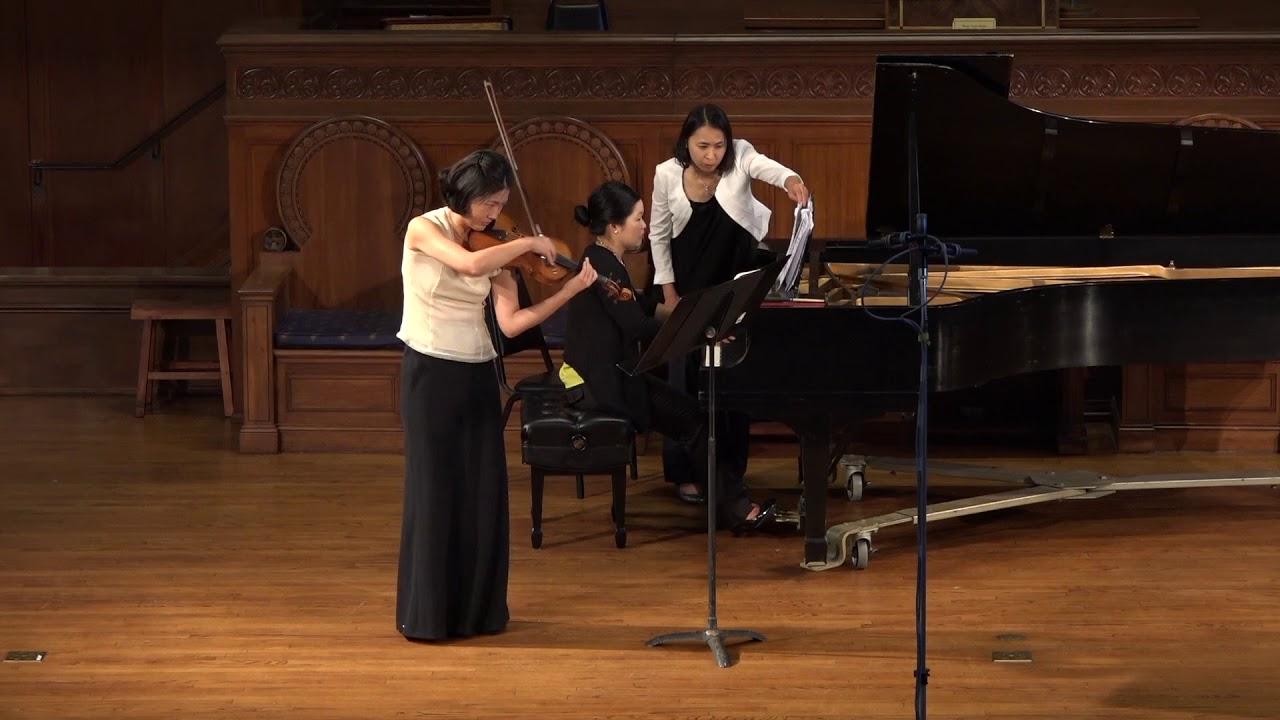 Ensemble Ari - Rhapsody for violin and piano, No  1 by Bela Bartok  (1881-1945)