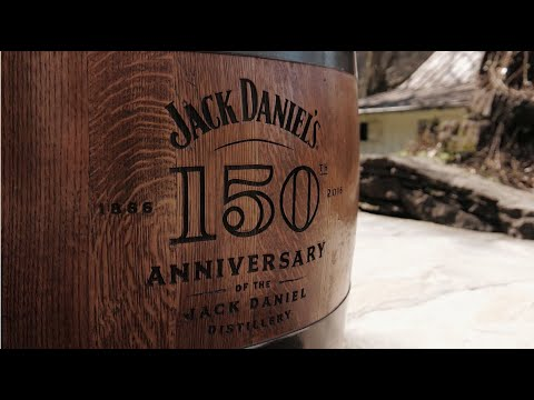 Visiting the Jack Daniels Barrelhouse