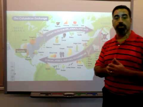 Lecture 2: The Columbian Exchange
