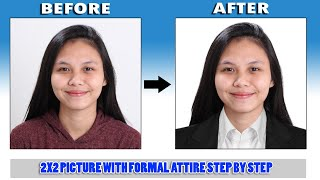 2x2 With Formal attire | PHOTOSHOP TUTORIAL | (Tagalog sub) screenshot 5
