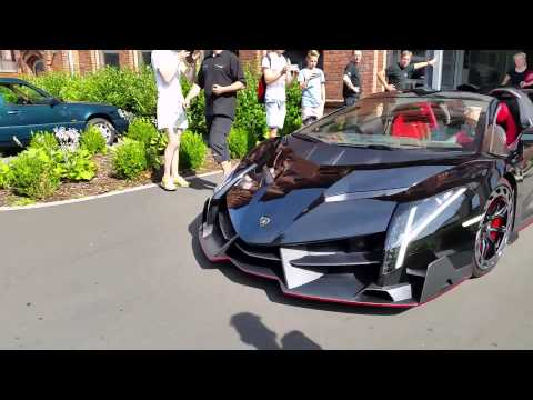Lamborghini Veneno Roadster (one of 9)