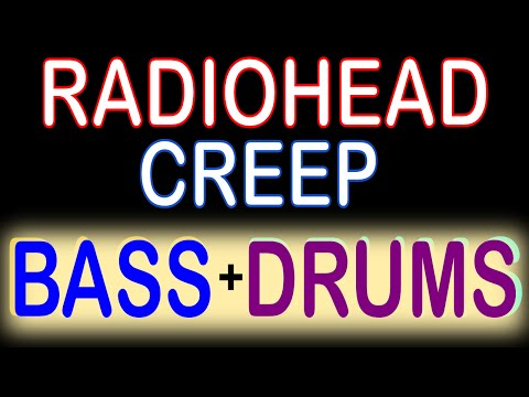 Radiohead - Creep (Guitar Backing Track) with Karaoke Lyrics