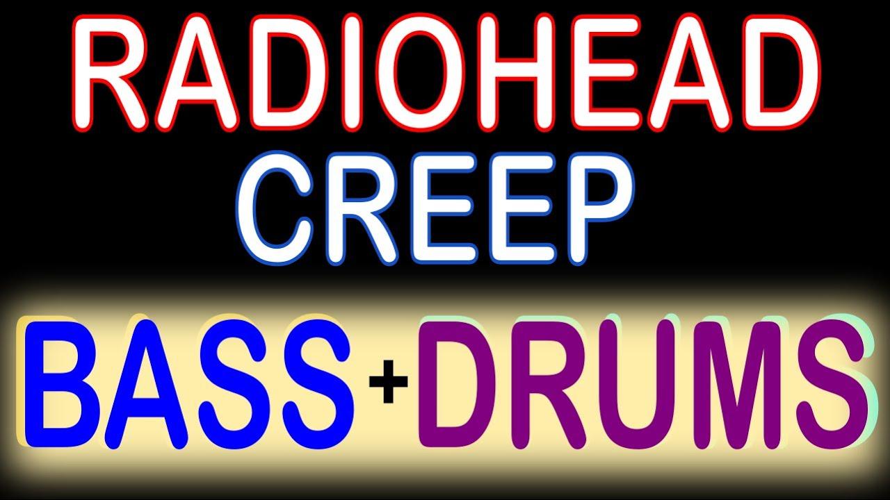 Radiohead Creep Guitar Backing Track With Karaoke Lyrics Chords