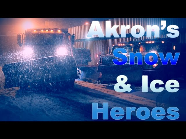 The Unsung Heroes: Akron's Epic Snow & Ice Control Team