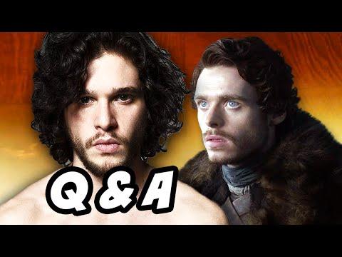 Game Of Thrones Season 6 - Jon Snow Robb Stark Q&A