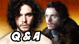 Game Of Thrones Season 6 - Jon Snow Robb Stark Q&A