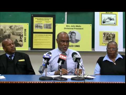 Bus Route Cancellations Press Conference