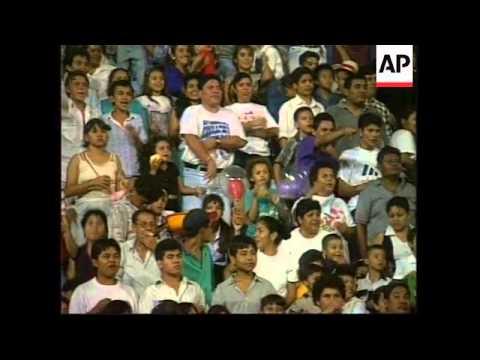 NICARAGUA: MANAGUA: 7TH ANNUAL BEN HUR CHARIOT RACE