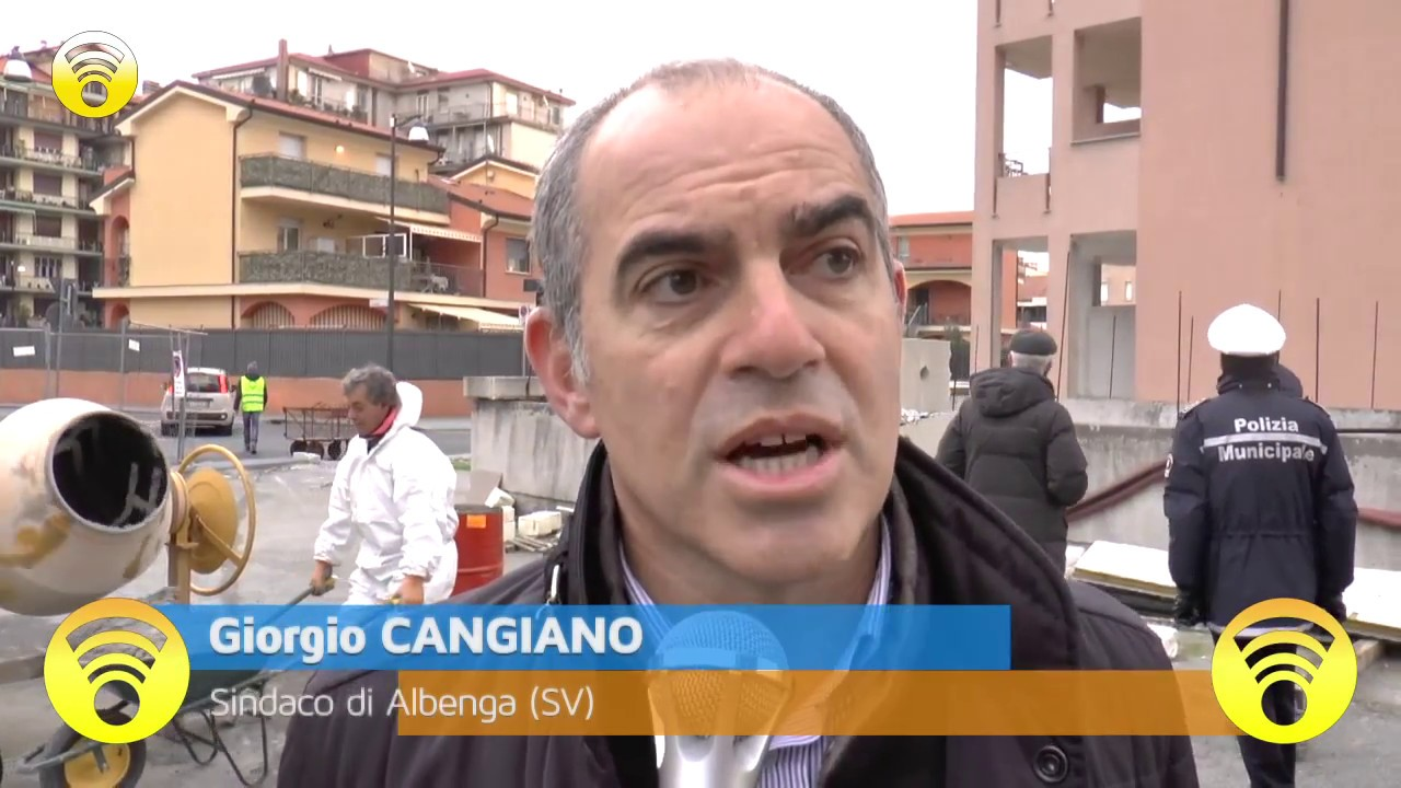 "Albenga: blitz all'ex cantiere ""Giallombardo"": video #1"