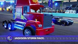 Cars 3: Driven to Win (PS4) - Mack vs. Jackson Storm (Hard Mode)