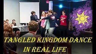 Tangled Kingdom Dance IN REAL LIFE