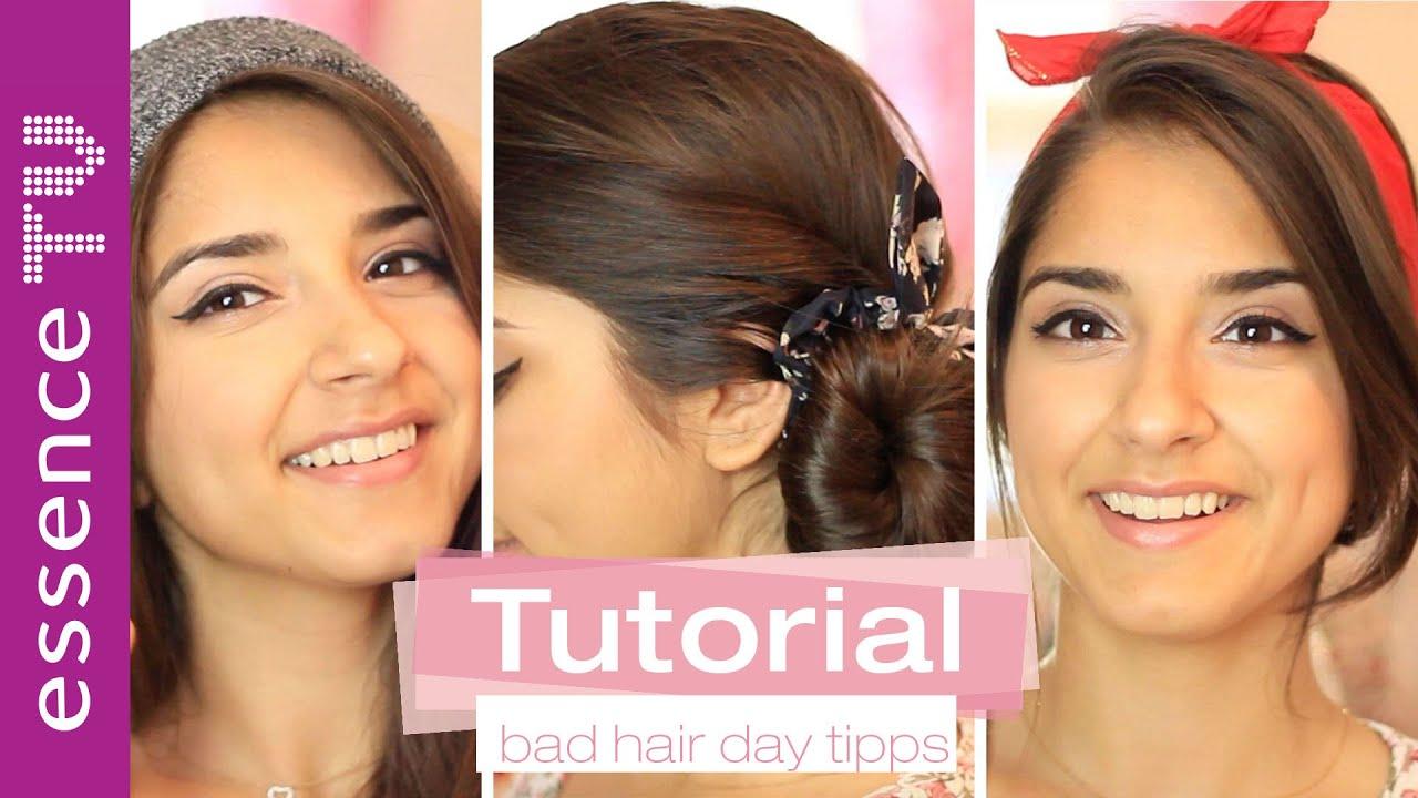 Bad Hair Day Ungewaschene Haare Tipps Für Frisuren Make Up L