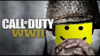 COD: WW2 Trailer but every time someone dies the ROBLOX death sound plays - DogeMeat