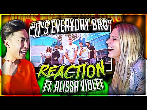 Thumbnail: Reacting to Jake Paul's Song With His EX Girlfriend (Alissa Violet)