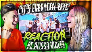 Reacting to Jake Paul's Song With His EX Girlfriend (Alissa Violet) thumbnail