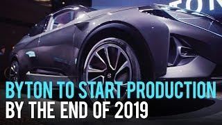 Byton to Start Production in 2019