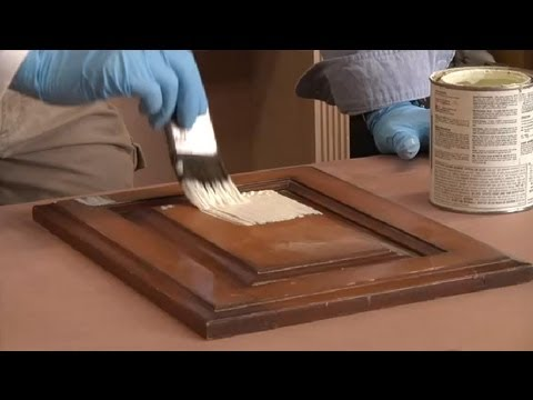 Steps in Painting Kitchen Cabinets That Are Stained : Restoring ...