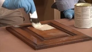 Steps In Painting Kitchen Cabinets That Are Stained : Restoring & Painting Kitchen Cabinets