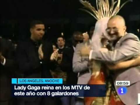 Lady Gaga arrasa en los MTV Video Music Awards, con ocho galardones