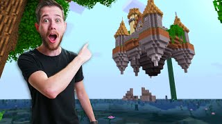 I Found A GIANT Floating Castle In RLcraft!