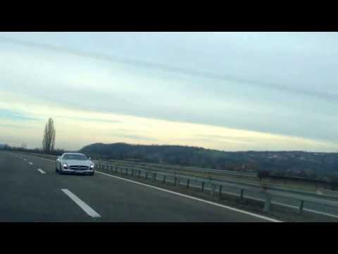Mercedes-Benz SLS AMG Flyby