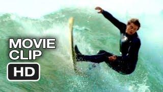 Chasing Mavericks Movie CLIP - Jay Surfing (2012) - Gerard Butler Movie HD