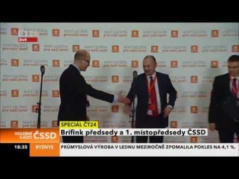 Michal Hašek a Bohuslav Sobotka: Jsme tým, který táhne za jeden provaz