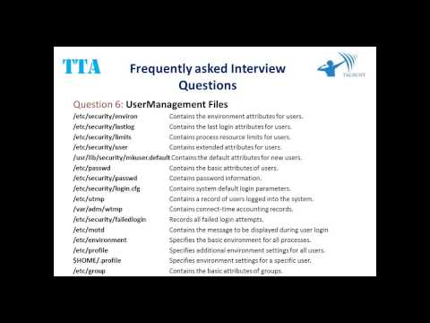 2014 12 01 10 02 Session 1  IBM AIX Administration Interview questions