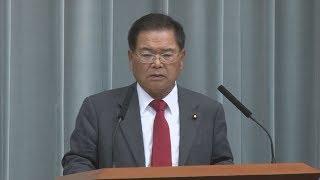 科学技術担当相に竹本直一氏 第4次安倍再改造内閣が発足