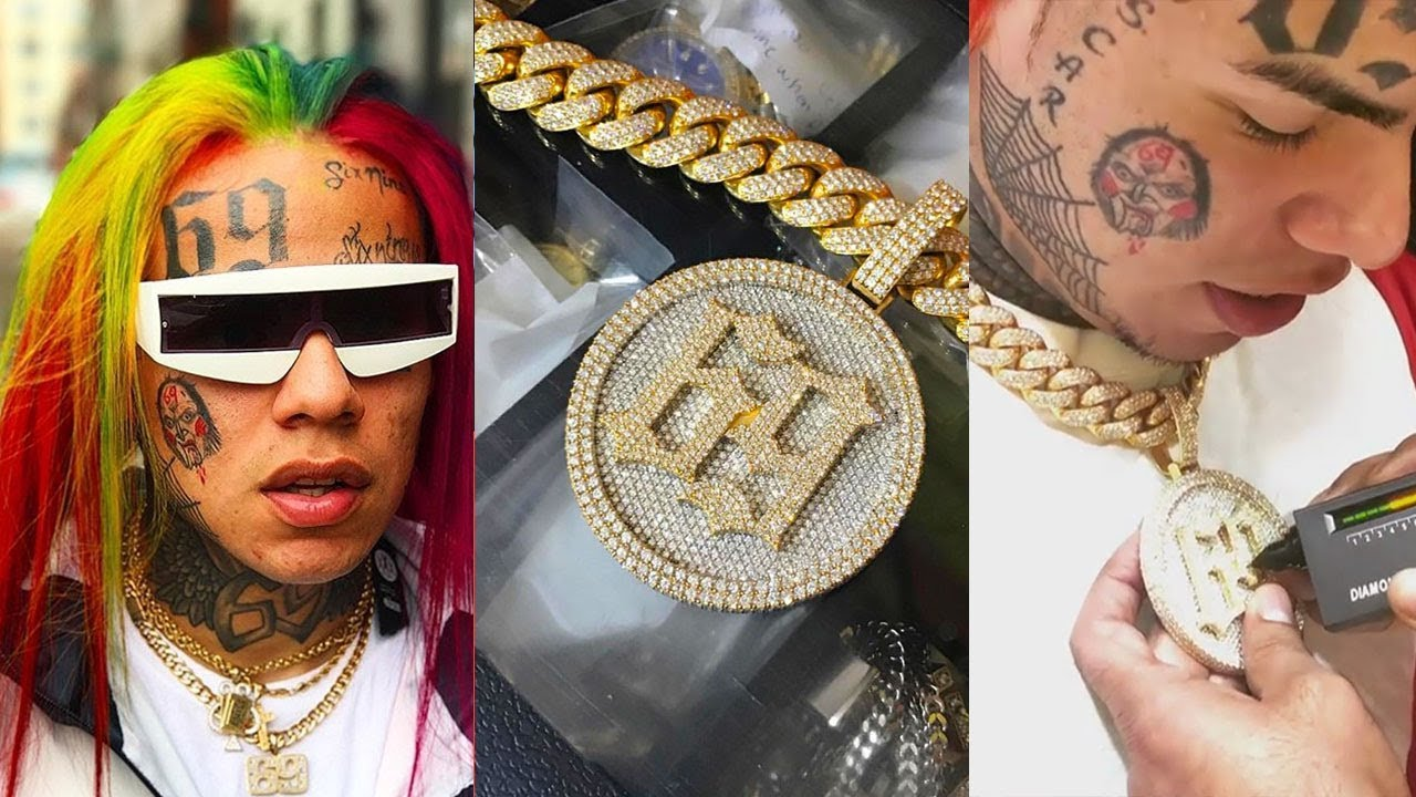 "69 Chain Jigsaw: Tekashi69 6ix9ine ""Drops $150K On Chain"" After Fake Chains"
