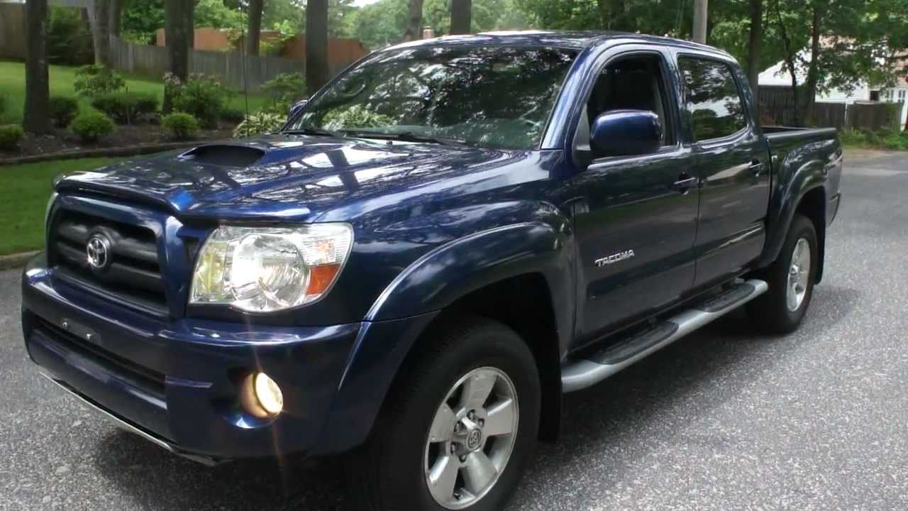 sold 2005 toyota tacoma double cab trd sport for sale only 39000 miles youtube