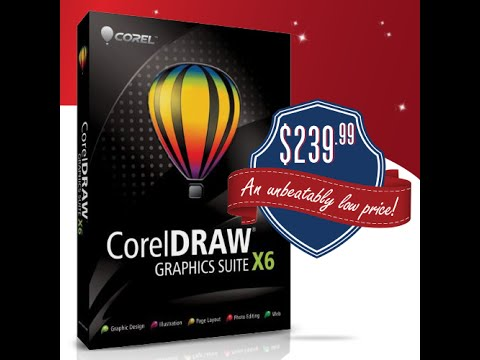 CorelDRAW X6 Graphics Suite Cyber Monday Deal (Best Price you will find  online)