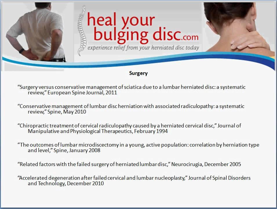 Herniated Disc Treatment Dr Ron Daulton Jr Discusses Herniated Disc Treatment Success Rates