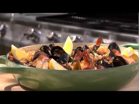 Barbecued Spanish Rice With Sausage And Mussels Recipe - LeGourmetTV