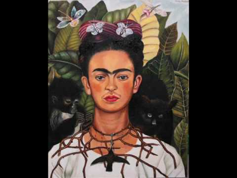 frida kahlo selbstbildnis mit dornenhalsband 1940 youtube. Black Bedroom Furniture Sets. Home Design Ideas