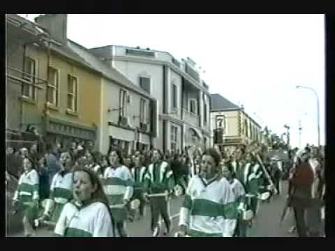 1998 ST PATRICKS DAY parade Bundoran Co. Donegal