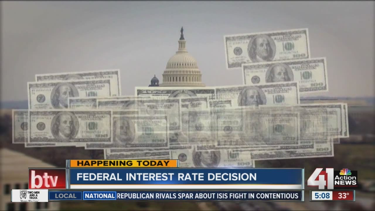 Federal interest rate decision expected today - YouTube