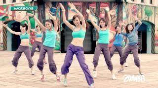 2014 屈臣氏 一塊跳ZUMBA舞蹈教學完整版