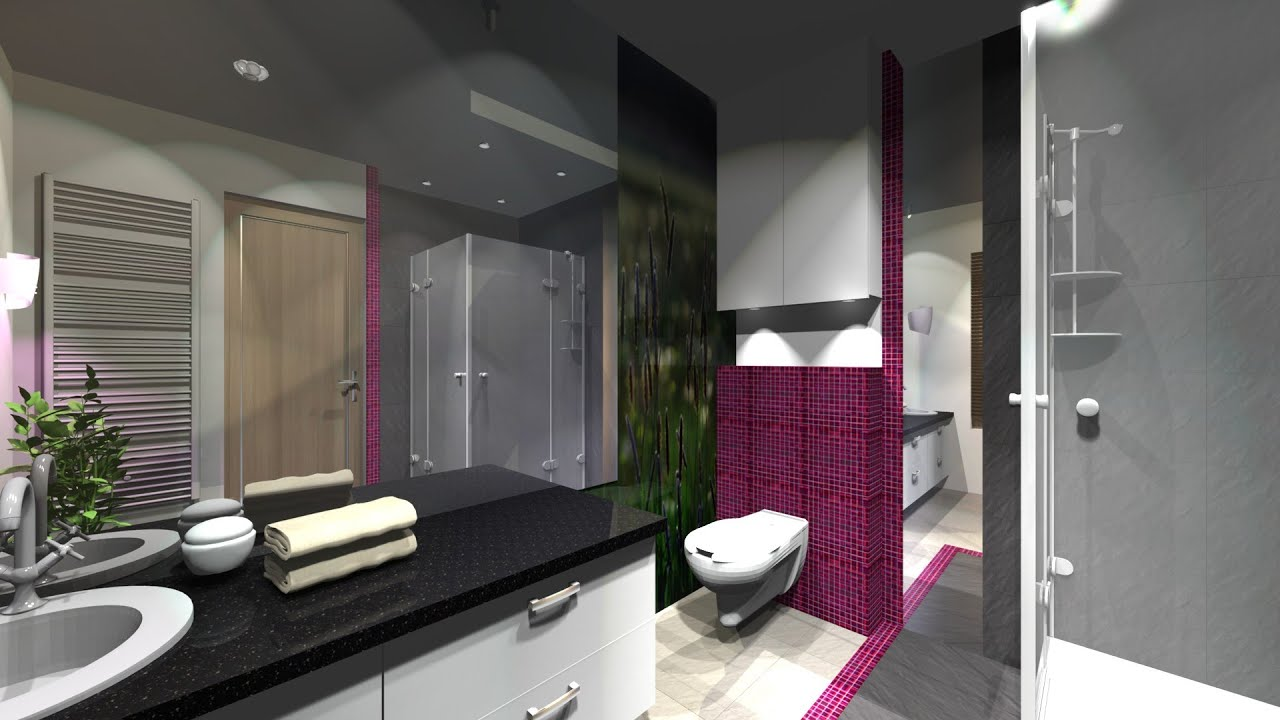 Jak zaprojektować łazienkę. Projekt łazienki cz.1. - YouTube