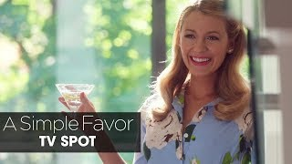 """A Simple Favor (2018 Movie) Official TV Spot """"Beautiful Ghost"""" – Anna Kendrick, Blake Lively"""
