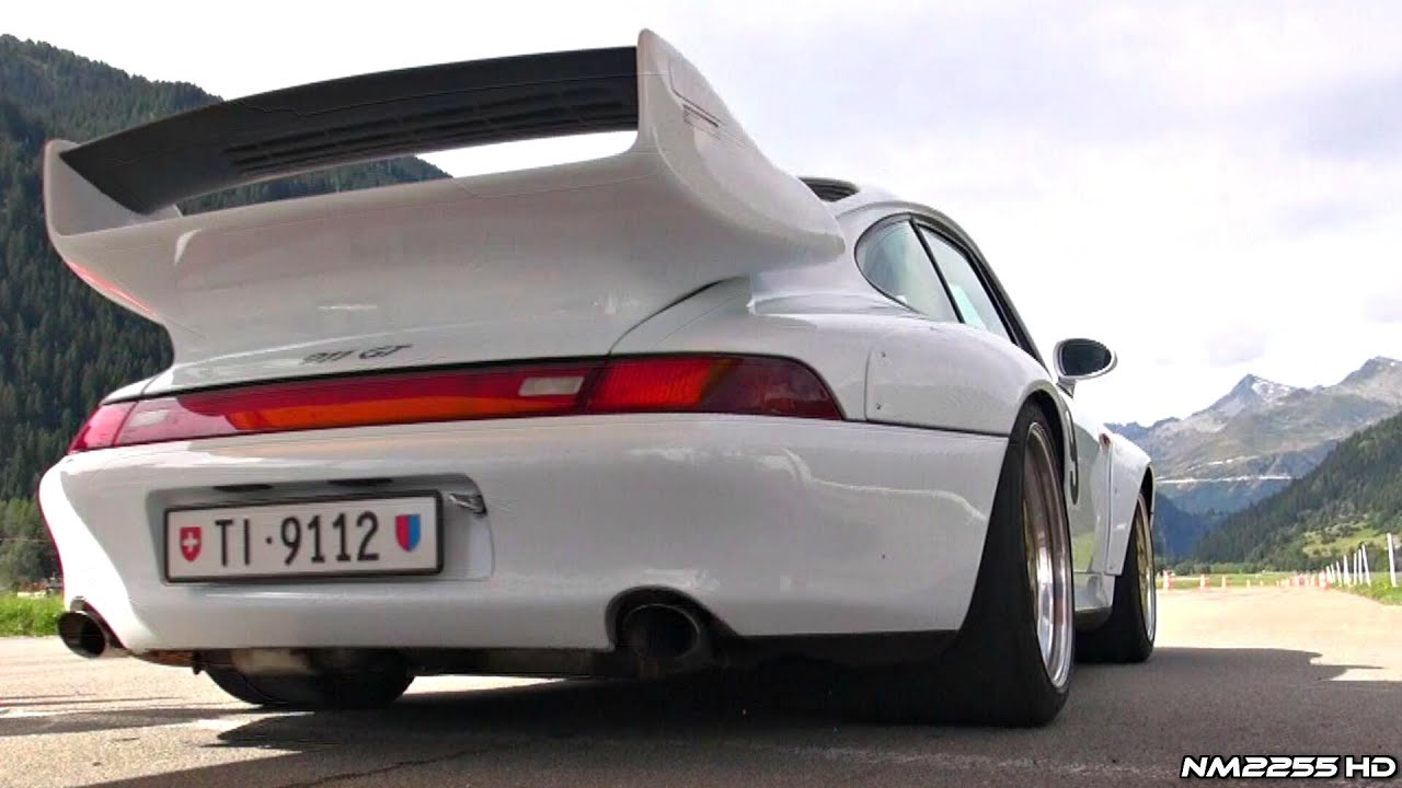 Porsche 993 Gt2 Sound In Action Youtube