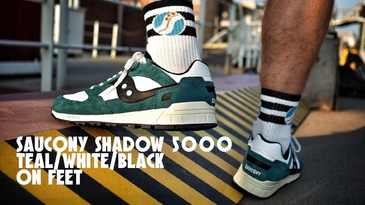 finest selection 70ffa 80b7d On Feet: Saucony Shadow 5000 Vintage Teal / Saucony did me good!