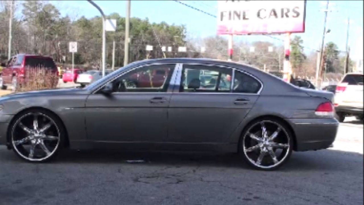 2004 bmw 745 li on 24s with lift kit $18,900 - youtube